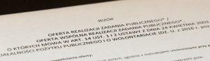 Dokumenty dopobrania – OTWARTY KONKURS OFERT