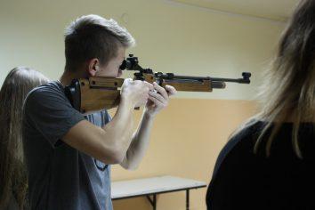Zawody strzeleckie oMistrzostwo Klas Pierwszych wILO